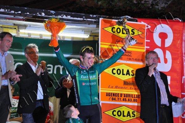 Critérium de Marcolès (15) : Le podium