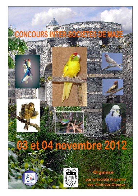 Concours inter-sociétés de Mazé (49), novembre 2012