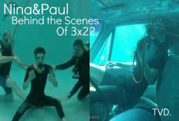Derriere de la scene 3x22