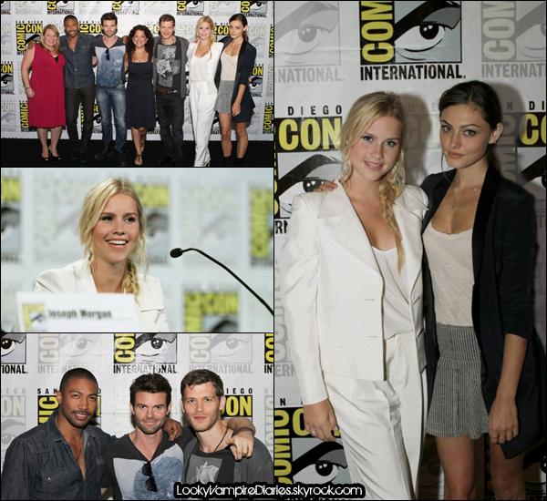| Comic-Con | Photos | Le 21 Juillet 2013 | nos préférés acteurs  à San Diego |