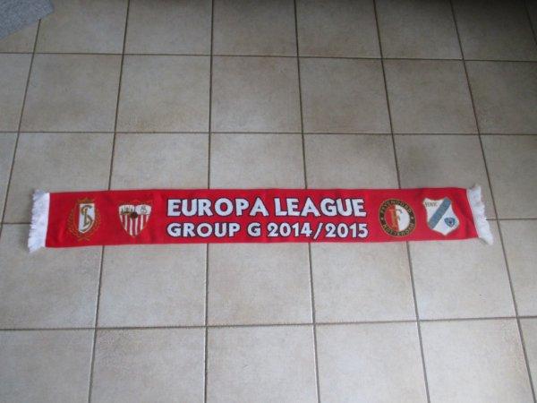 Echarpe Europa League - 2014 / 2015 - Groupe G