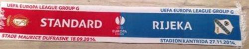 Echarpe UEFA Standard Liège vs Rijeka