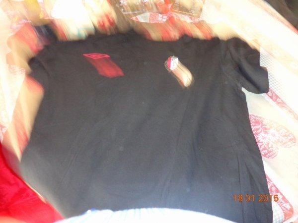 tee shirt noir du Standard de Liège