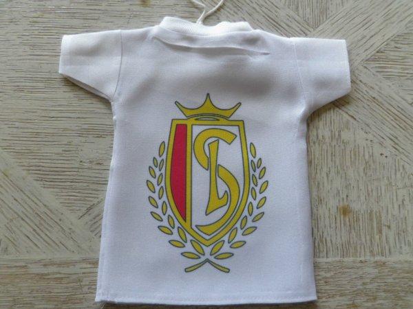 Mini TS Tee shirt Standard de Liège Football. Avec cintre et ventouse. Voiture.