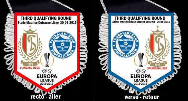 FANION WIMPEL PENNANT EUROPA LEAGUE 2015/2016