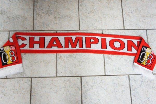 Standard de liège superbe écharpe standard champion 2008
