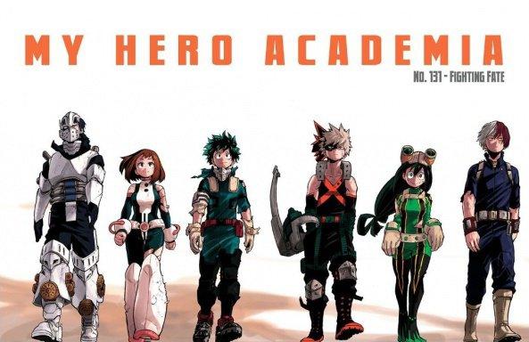 My Hero Academia !! <3 *^*
