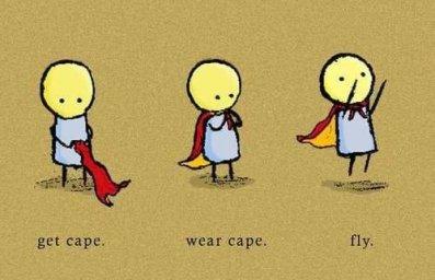 Mon rêve ? être superman