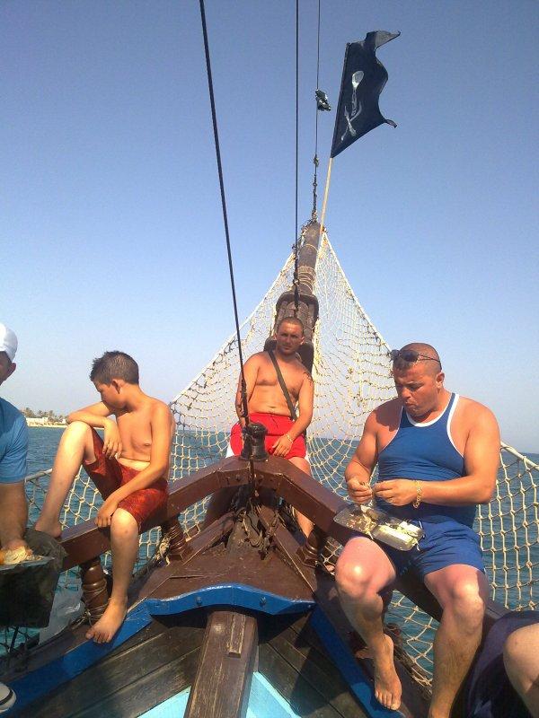 virée en mer
