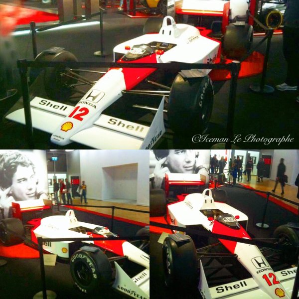 La voiture d Ayrton Senna
