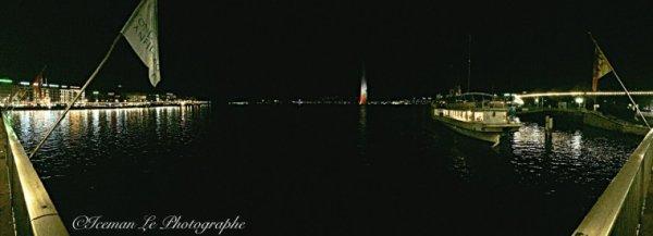 Jet d eau de Genève au Couleur de la France