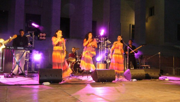 Négrita en concert en Italie