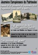 Journées Européennes du Patrimoine 2010 à Loos