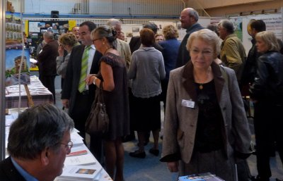 Visite inaugurale du Forum des Weppes