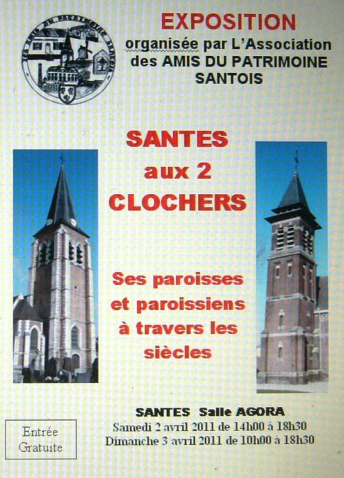 Santes aux deux clochers