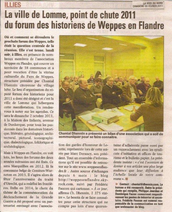 L'assemblée générale de Weppes en Flandre