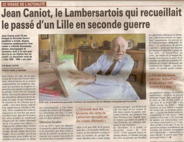 Le nouveau livre de Jean Caniot