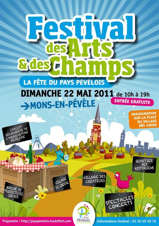 Festival des arts et des champs à Mons-en-Pévèle