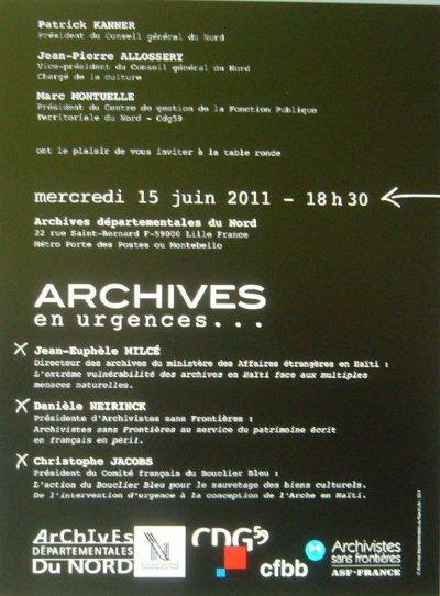 Pas toujours facile d'être une archive et encore moins un archiviste !