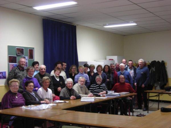 ''Wez-Macquart au fil du Temps''  a organisé ce mercredi 8 février 2012 sa 1ère assemblée générale.
