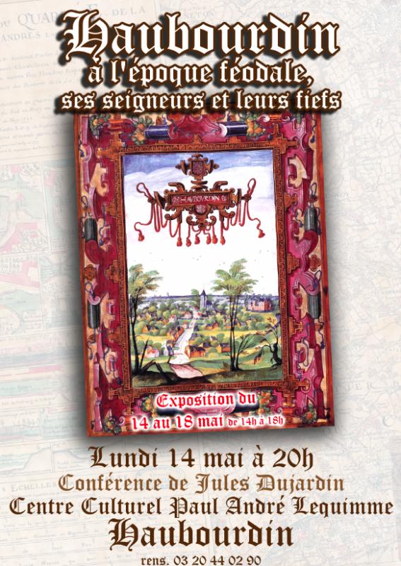 Ce lundi 14 mai, conférence sur Haubourdin à l'époque féodale