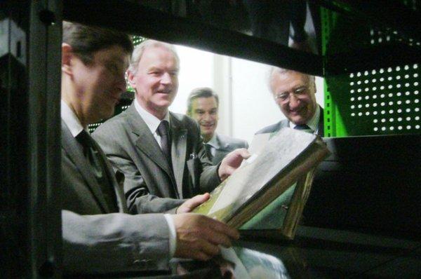 Inauguration du nouveau dépôt des Archives départementales du Nord
