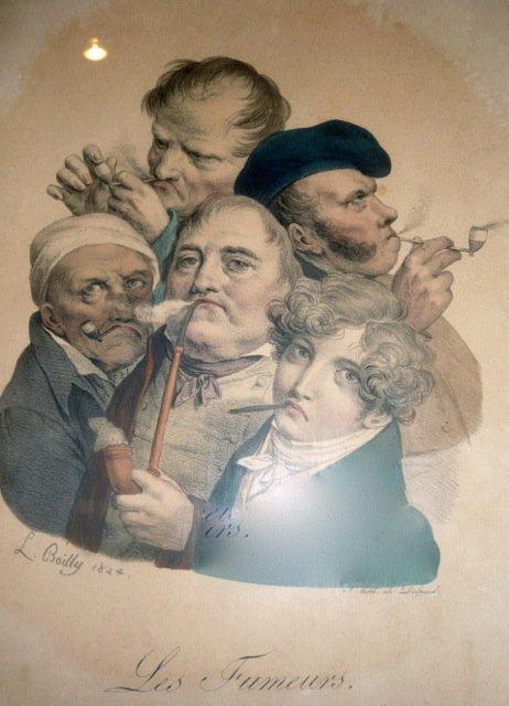 Deux oeuvres de Louis-Léopold Boilly au Musée du Tabac de Wervik, en Belgique