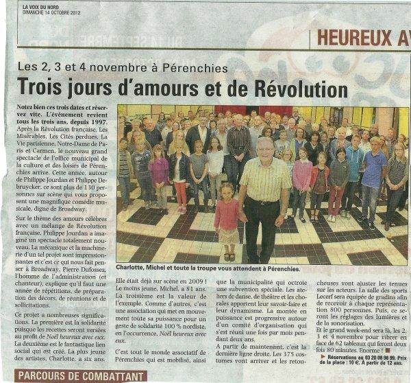 """""""Si la Révolution m'était contée""""... à Pérenchies"""