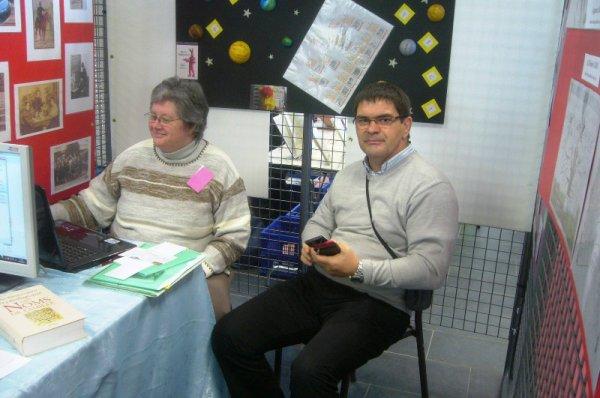 Le Forum des Weppes 2012 à Marquillies : le coin des généalogistes