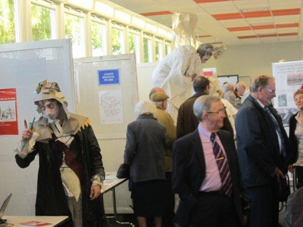 Forum des Weppes 2012 à Marquillies : du point de vue des Archives départementales du Nord (photographies Michel Vangheluwe)