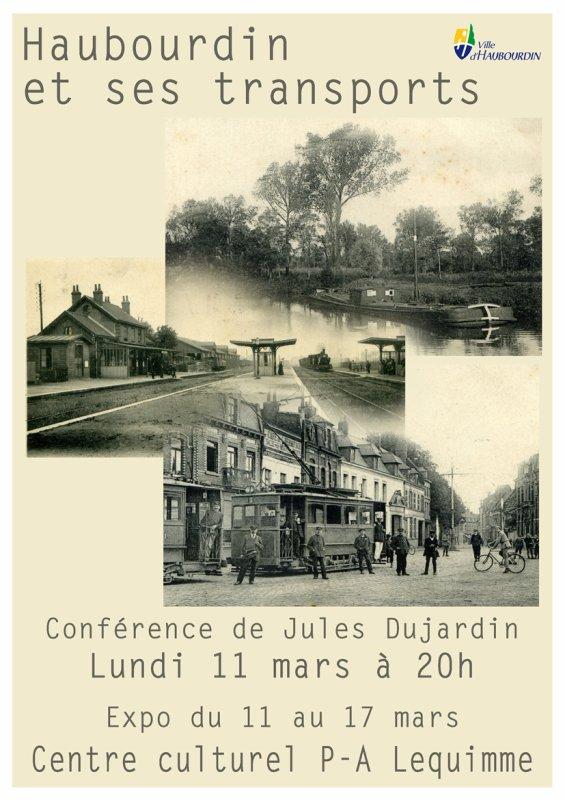 A pied, à cheval ou en voiture à Haubourdin le lundi 11 mars, avec l'ami Jules Dujardin