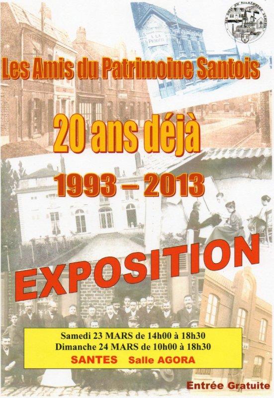 Les amis du Patrimoine Santois, 20 ans après