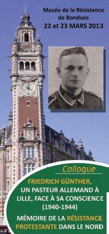 Mémoire de la résistance protestante dans le Nord de la France