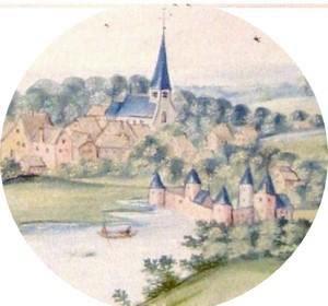 Maître Desfossez, de la société d'archéologie et d'histoire d'Avesnes-sur-Helpe, a donné cet après-midi une conférence sur l'histoire du village d'Anor