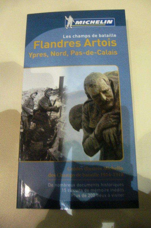 Présentation du guide Michelin des champs de bataille 14-18 en Flandre Artois