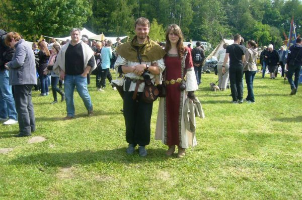 Ce week-end se sont déroulées les troisièmes Médiévales de Salomé
