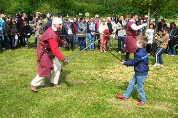 3ème Médiévales de Salomé : l'initiation des chevaliers en herbe