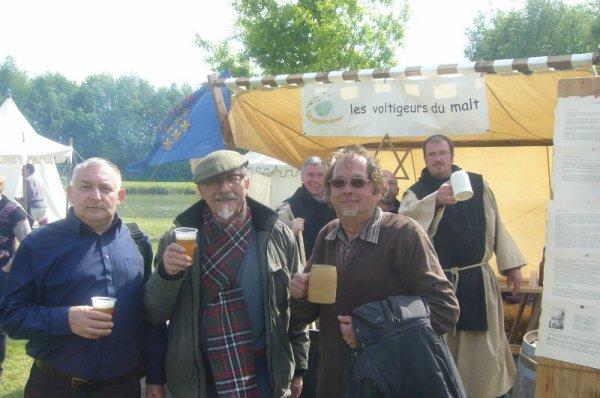 3èmes Médiévales de Salomé : les 3 Bernard, artisans de ce week-end historique