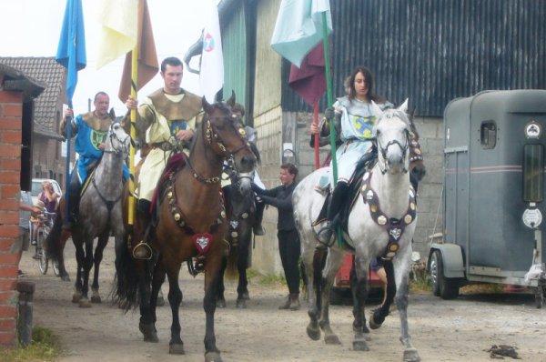 Ce dimanche 14 juillet, les chevaliers des Weppes étaient réunis au domaine de l'Hippocrate à Aubers