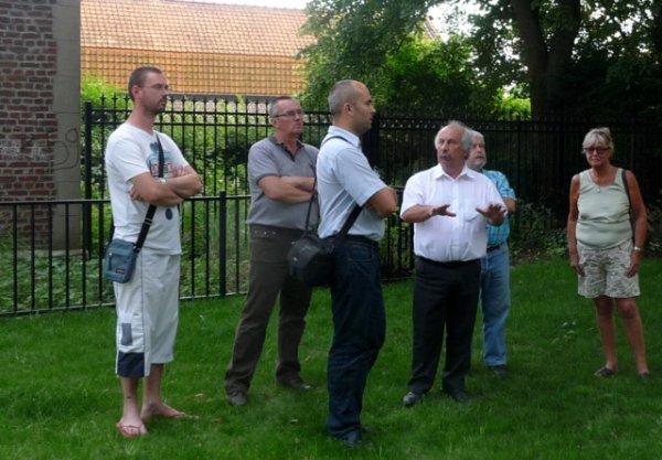 concertation avec le maire de Salomé autour de la chapelle des comtes d'Hespel