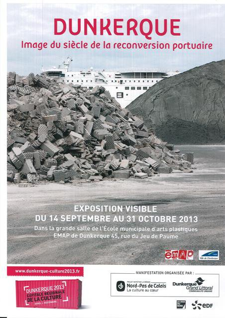 Dunkerque expose sa reconversion portuaire