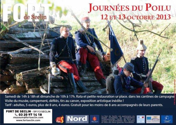 Les 12 et 13 octobre, les journées du poilu au fort de Seclin