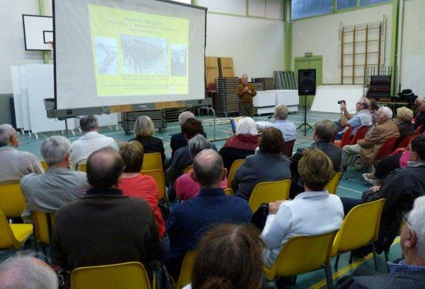La conférence inaugurale du forum des Weppes 2013 à Warneton Belgique (reportage Chantal Dhennin, photos Alain-Pierre Loyez)
