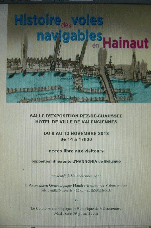 Histoire des voies navigables en Hainaut