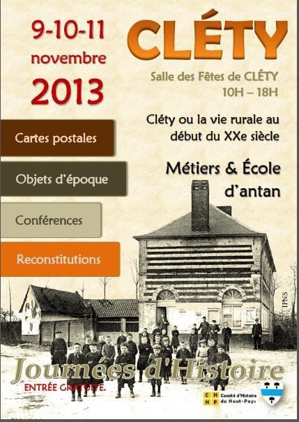 Cléty ou la vie rurale au début du XX° siècle