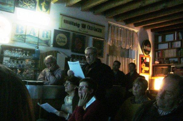Le premier bistrot histoire consacré à la Première guerre mondiale dans les Weppes s'est tenu vendredi dernier à Marquillies