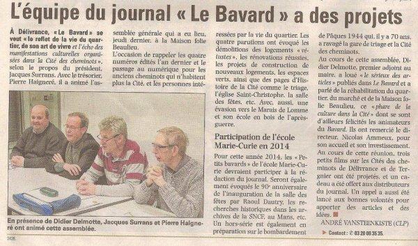 Le Bavard de Délivrance (merci à Alain-Pierre Loyez pour la transmission de l'information)