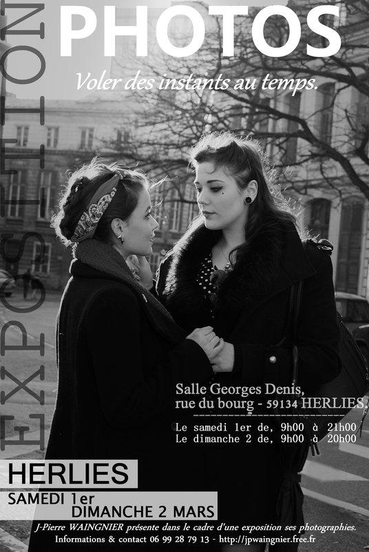 """Samedi 1er et dimanche 2 mars, exposition photos à Herlies : """"Voler des instants au temps"""" par Jean-Pierre Waingnier"""