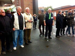 L'inauguration de la fête de printemps 2014 de Tracteurs en Weppes (photos de Chantal Dhennin, présidente de Weppes en Flandre)