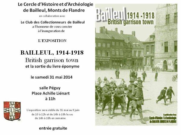"""Bailleul 1914-1918 : """"British garrison town"""""""
